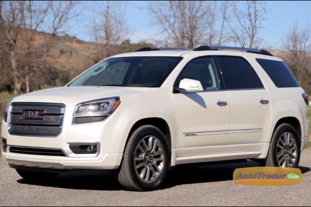 2013 GMC Acadia: New Car Review Video featured image large thumb1
