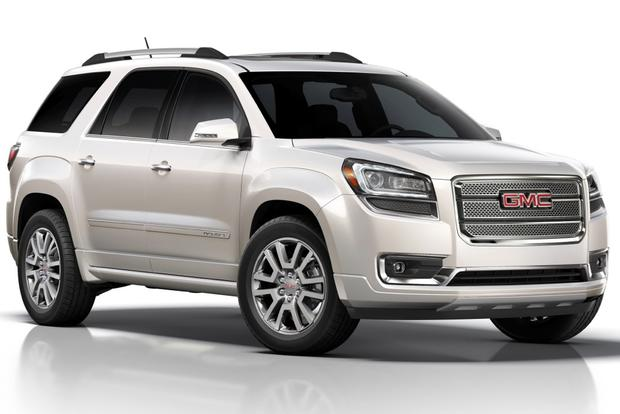 2014 gmc acadia denali real world review autotrader. Black Bedroom Furniture Sets. Home Design Ideas