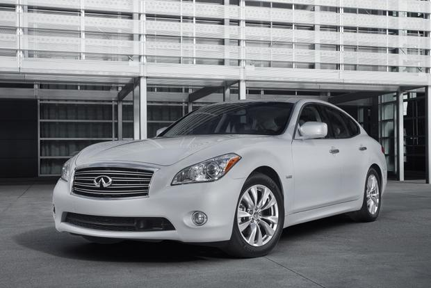 are not known for being quick or luxurious, but the 2014 Infiniti Q70