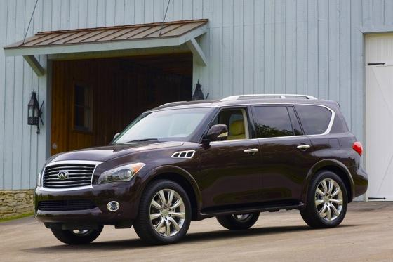 2012 Infiniti QX56: New Car Review featured image large thumb0