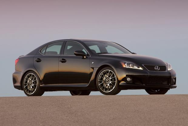 2012 Lexus IS F: New Car Review featured image large thumb0