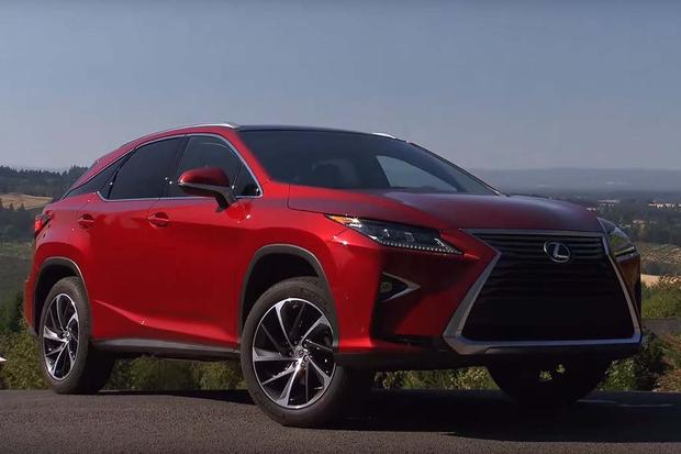 2016 Lexus RX: First Drive Review - Video featured image large thumb1
