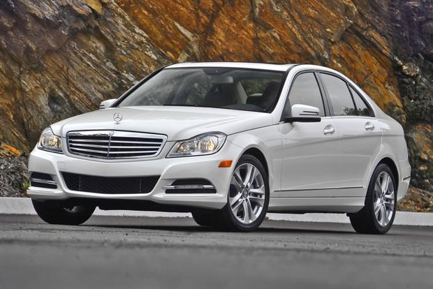 2012 Mercedes Benz C Class Sedan New Car Review Autotrader