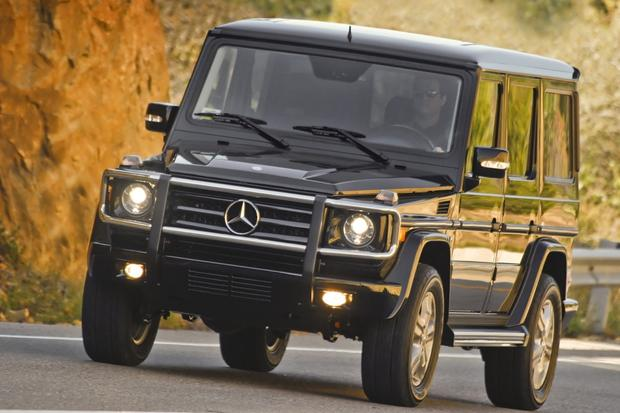2012 mercedes benz g550 new car review autotrader for Autotrader mercedes benz