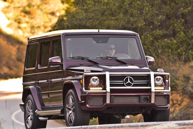 2013 mercedes benz g63 amg overview autotrader for Mercedes benz boxy suv