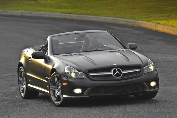 Mercedes Benz Van >> 2012 Mercedes-Benz SL550: New Car Review - Autotrader