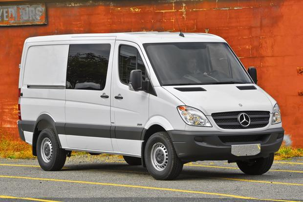 2012 Mercedes-Benz Sprinter: New Car Review featured image large thumb0