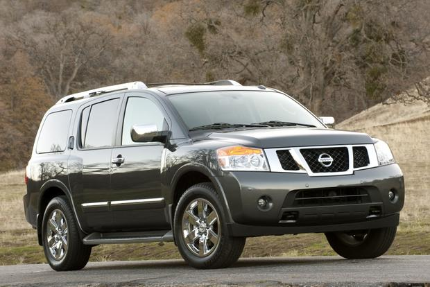Nissan Armada Towing Capacity >> 2012 Nissan Armada New Car Review Autotrader