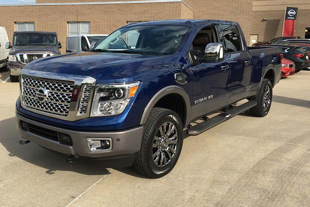 2016 Nissan Titan Xd Crew Cab 5 6l First Drive Review Video
