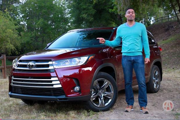 2017 Toyota Highlander: 5 Reasons to Buy - Video featured image large thumb1