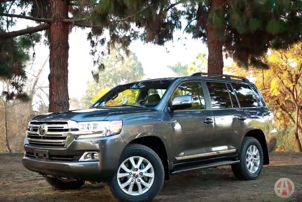 2016 toyota land cruiser 5 reasons to buy video autotrader. Black Bedroom Furniture Sets. Home Design Ideas