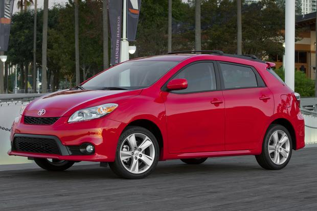 2012 Toyota Matrix: New Car Review featured image large thumb0
