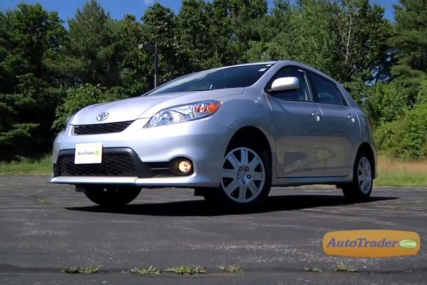 2012 Toyota Matrix: New Car Review - Video featured image large thumb2
