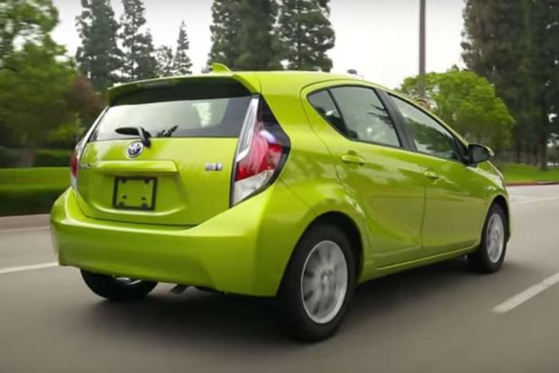 2017 Toyota Prius C 5 Reasons To Video