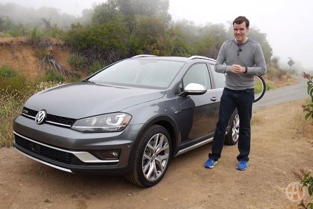 2017 Volkswagen Golf Alltrack: It's a Cargo-Hauling Champion - Video featured image large thumb1