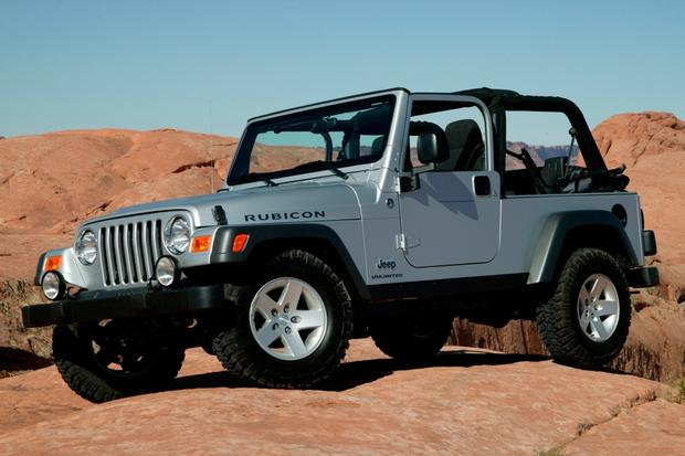 19972006 Jeep Wrangler Used Car Review  Autotrader