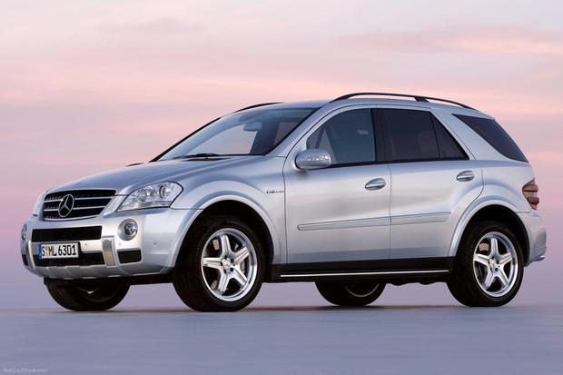 2006 2011 mercedes benz m class used car review autotrader for Autotrader mercedes benz