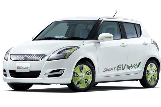 suzuki swift ev hybrid tokyo auto show autotrader. Black Bedroom Furniture Sets. Home Design Ideas