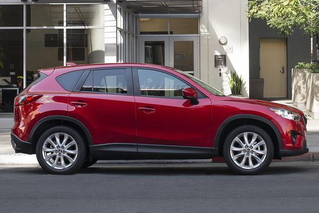 Toyota Rav Interior >> 2015 Toyota RAV4 vs. 2015 Mazda CX-5: Which Is Better ...