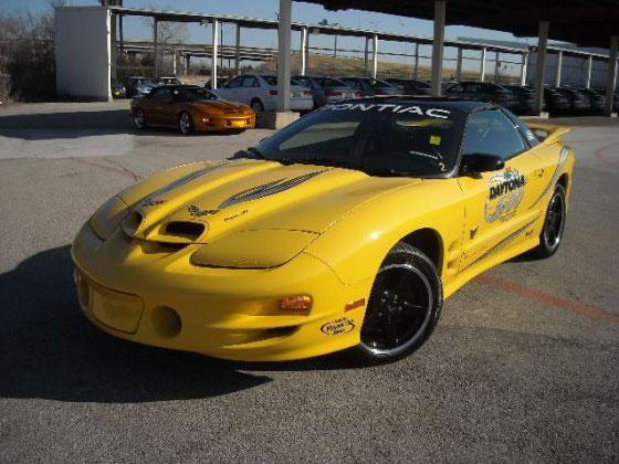 Found on AutoTrader.com: Jay Leno Daytona 500 Firebird featured image large thumb0