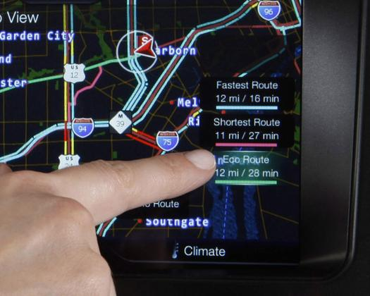 Ford's New Gadget Suggests the Most Fuel Efficient Route featured image large thumb0