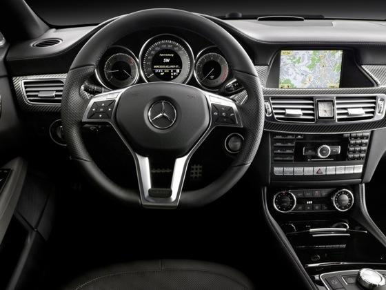 Coupe Scoop! 2012 Mercedes-Benz CLS Four Door Coupe Revealed featured image large thumb9