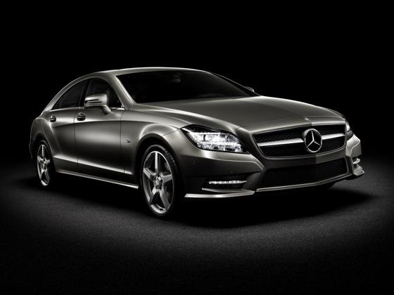 Coupe Scoop! 2012 Mercedes-Benz CLS Four Door Coupe Revealed featured image large thumb3