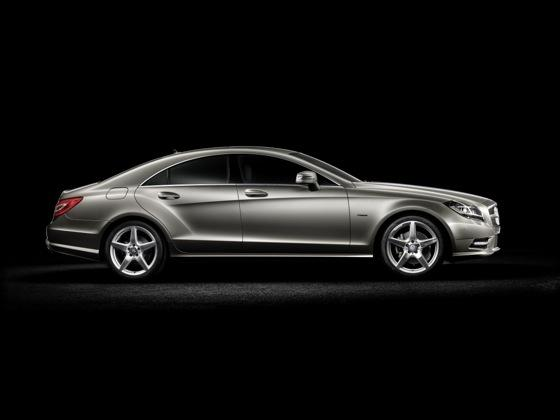 Coupe Scoop! 2012 Mercedes-Benz CLS Four Door Coupe Revealed featured image large thumb4