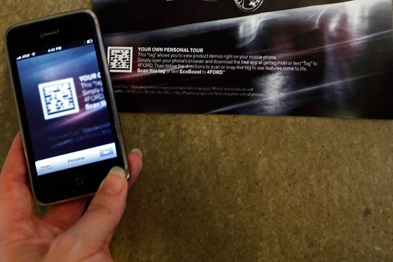 Scan This Ad: Ford's NY Times Print Ads Use Bar Codes for Phones featured image large thumb0