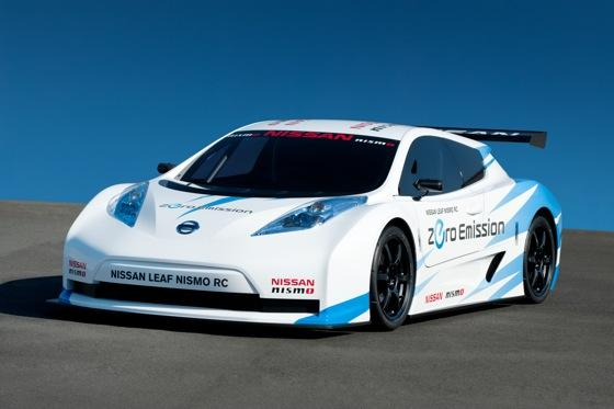 The Nissan Leaf as a Race Car? featured image large thumb0