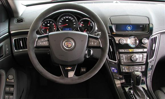 Review: 2009 Cadillac CTS-V featured image large thumb3