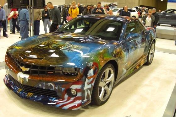 American pride camaro san diego auto show autotrader for Us motors san diego