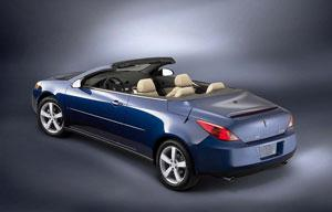 2008 Pontiac G6 Convertible: What's New featured image large thumb0