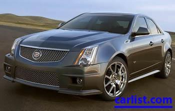 2009 Cadillac CTSv Sedan featured image large thumb0