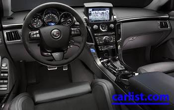 2009 Cadillac CTSv Sedan featured image large thumb1