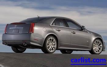 2009 Cadillac CTSv Sedan featured image large thumb3