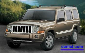 2008 Jeep Commander featured image large thumb0