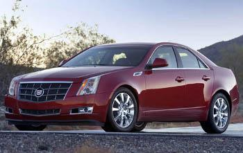 2008 Cadillac CTS featured image large thumb0