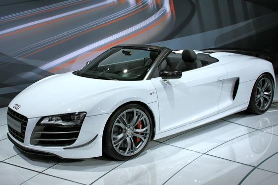 2012 Audi R8 GT Spyder - LA Auto Show - Image Gallery featured image large thumb0