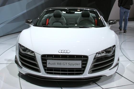 2012 Audi R8 GT Spyder - LA Auto Show - Image Gallery featured image large thumb1