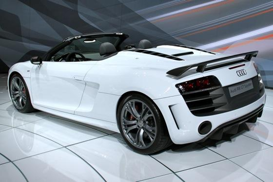 2012 Audi R8 GT Spyder - LA Auto Show - Image Gallery featured image large thumb2