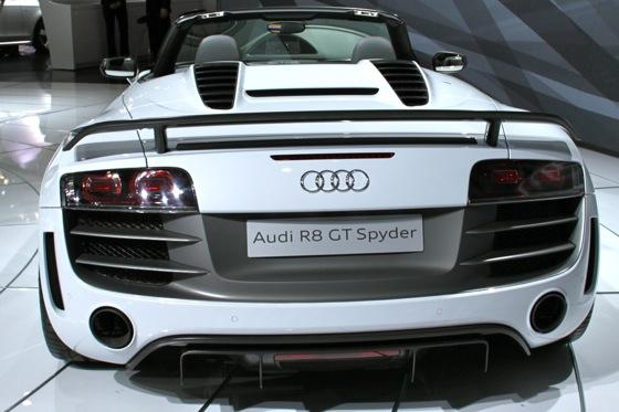 2012 Audi R8 GT Spyder - LA Auto Show - Image Gallery featured image large thumb3