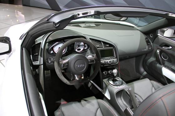 2012 Audi R8 GT Spyder - LA Auto Show - Image Gallery featured image large thumb4