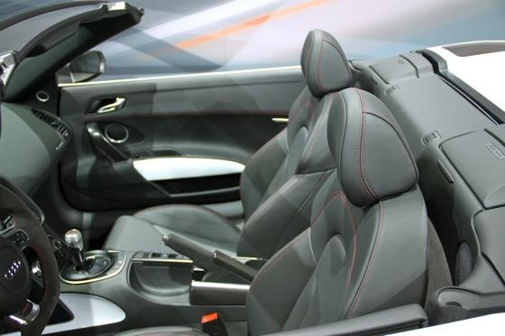 2012 Audi R8 GT Spyder - LA Auto Show - Image Gallery featured image large thumb5