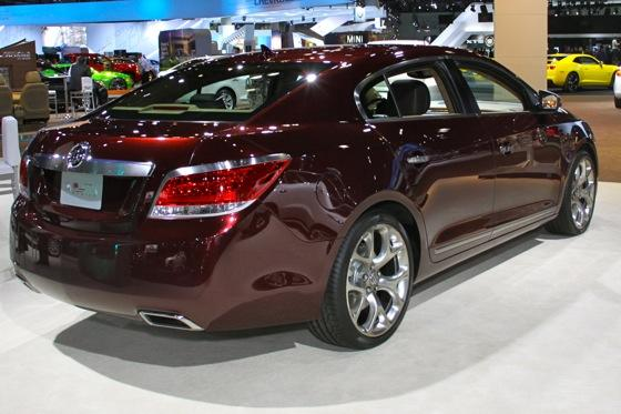 Buick LaCrosse GL Concept - LA Auto Show - Image Gallery featured image large thumb3