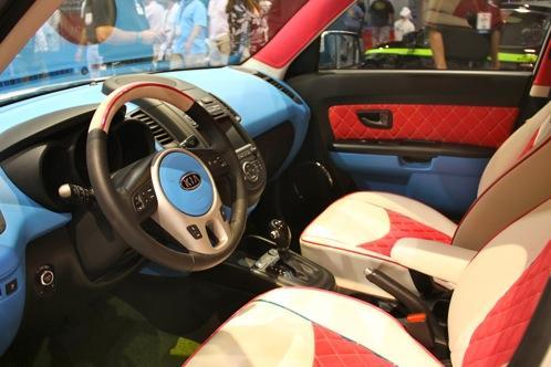 Hole In One Kia Soul Sema Auto Show Autotrader