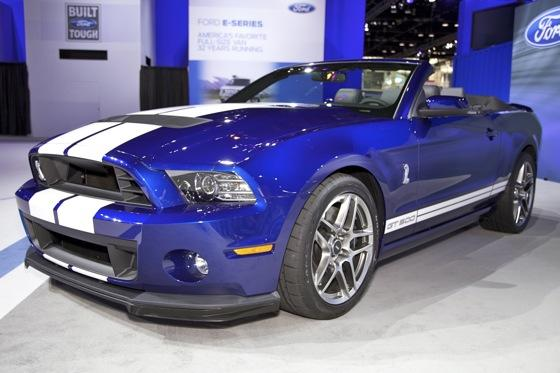 2013 Ford Shelby GT500 Convertible: Chicago Auto Show featured image large thumb1