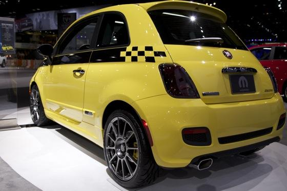 FIAT 500 Stinger: Chicago Auto Show featured image large thumb8