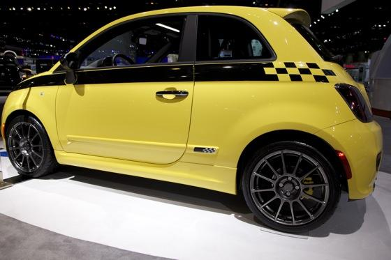 FIAT 500 Stinger: Chicago Auto Show featured image large thumb9