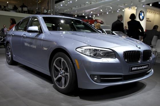 2012 BMW ActiveHybrid 5: Detroit Auto Show featured image large thumb0